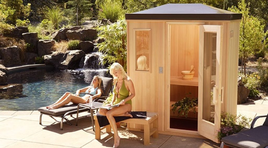 Backyard Sauna